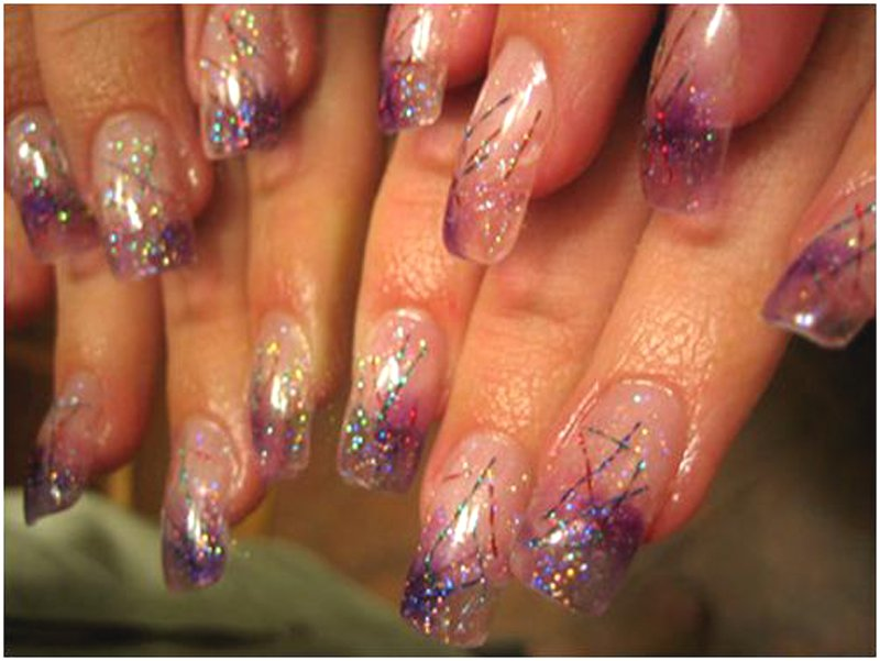 Как сделать рисунок на ногтях видео фото 850
