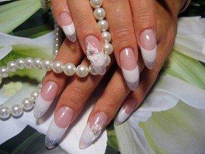 Френч дизайн ногтей все еще актуален в 2012 году