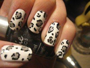 Как сделать леопардовый маникюр в домашних условиях