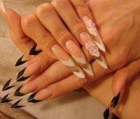 Ногти форма edge