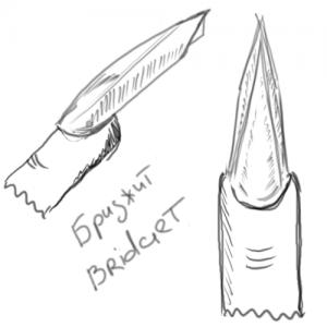 Форма ногтей «Бриджит» (Bridget)