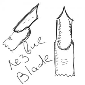 Форма ногтей «блейд» (Blade)