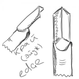 Форма ногтей «эйдж» (EDGE)