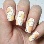 Дизайн ногтей «Оранжевые пузырьки» - стильный летний маникюр!