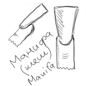 Форма ногтей «манифа» (Manifa)