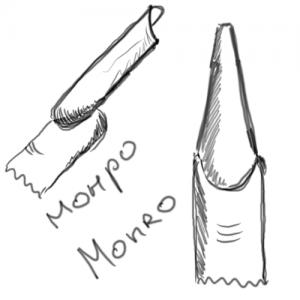 Форма ногтей «монро» (Monro)