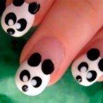 Летний маникюр «Веселая Панда»