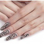 Дизайн ногтей на длинные ногти