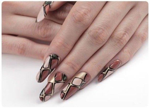 Фото дизайн на длинных ногтях