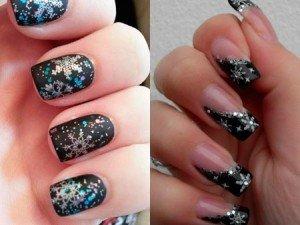 Коллекция фотографий зимнего дизайна ногтей