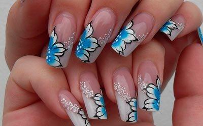 Уроки художественной росписи ногтей