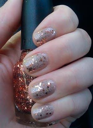 Дизайн колготок на ногтях