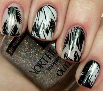 Модные тенденции в дизайне ногтей 2013, подборка фото
