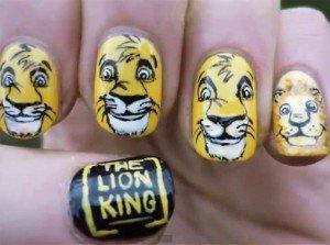 Маникюр Король Лев(Lion King)