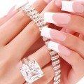 Гелевые ногти френч фото