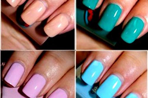 Гелевые ногти 2013