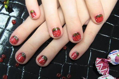 дизайн ногтей детям фото