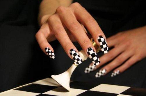 осень дизайн ногтей фото
