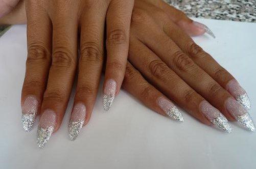 дизайн хрустальные ногти фото