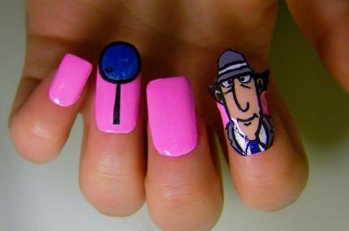 дизайн для накладных ногтей фото