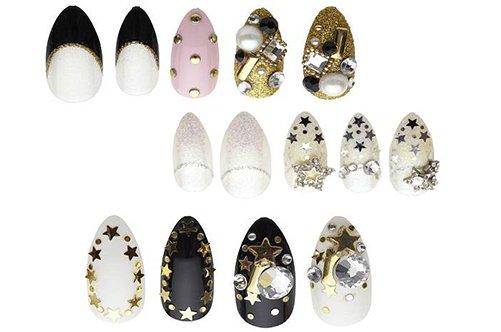 типсы для красивого дизайна накладных ногтей фото