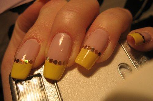 желтый френч миллениум фото