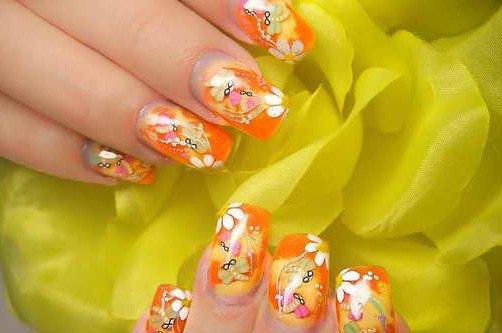 дизайн ногтей весна 2013 фото