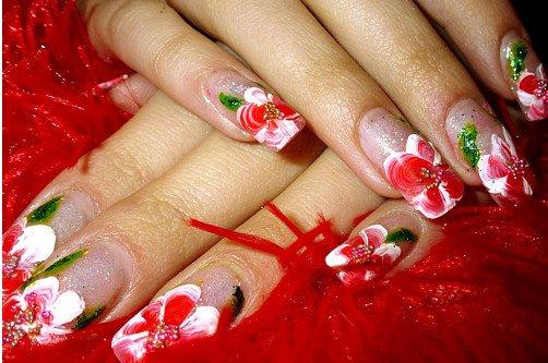 дизайн ногтей весна фото