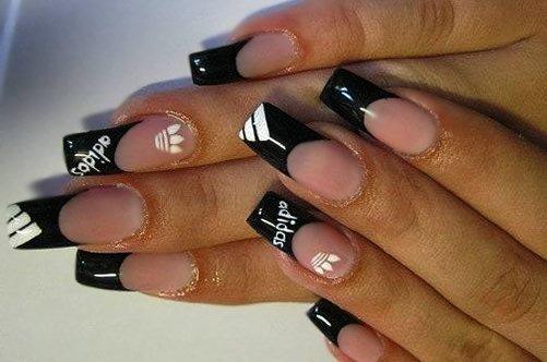 фотография только дизайн ногтей адидас фото всегда таким