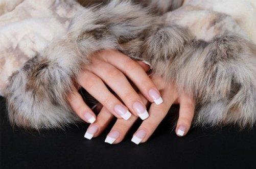 Френч самые новые дизайны ногтей фото