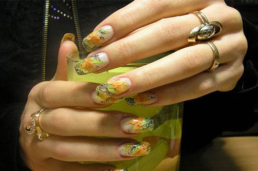 дизайн ногтей лето фото