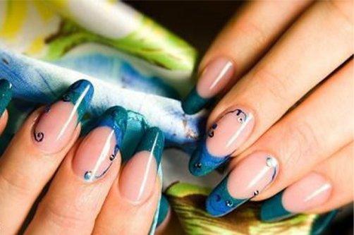 Дизайн ногтей: лето 2013
