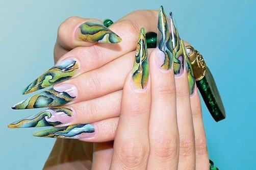 Дизайн ногтей: лето-осень 2013