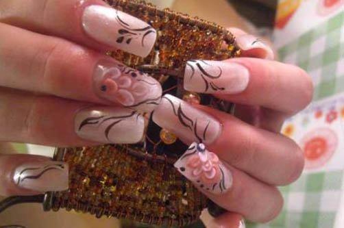 дизайн ногтей на лето осень фото