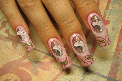 дизайн ногтей осенние новинки фото