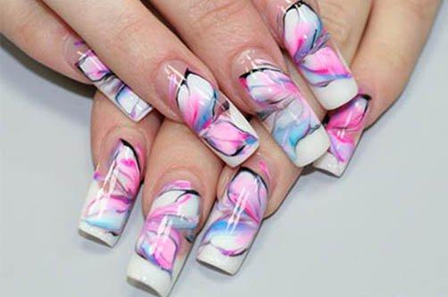 новинки осени дизайн ногтей фото