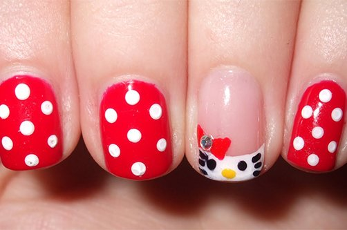 Шилак фото на коротких ногтях дизайн