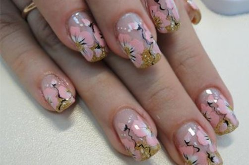 Шеллак на ногтях дизайн фото