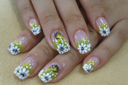 Дизайн ногтей весна