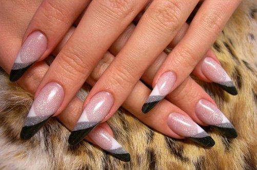острые ногти дизайн 2013 осень фото