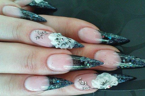 дизайн 2013 акриловые ногти фото