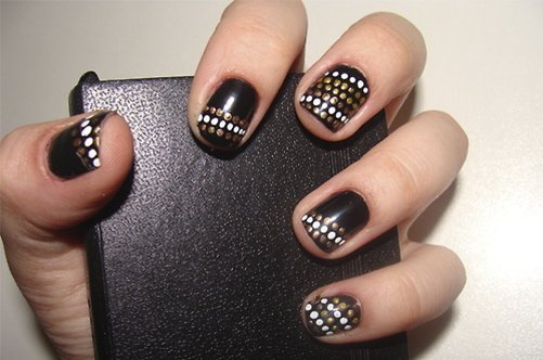 дизайн короткие ногти фото