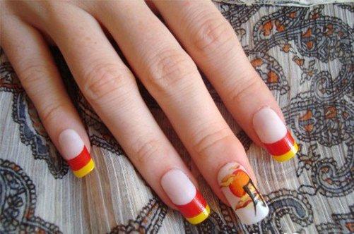 японский дизайн ногтей иероглифы фото