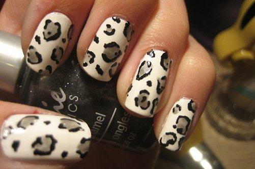 леопард дизайн ногтей фото