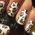 дизайн ногтей леопардовый фото