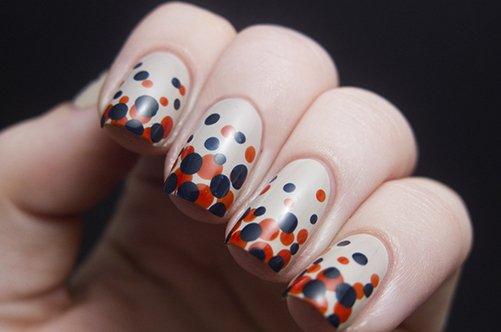 дизайн ногтей линии: