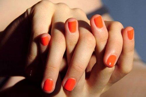 коралловый дизайн ногтей фото