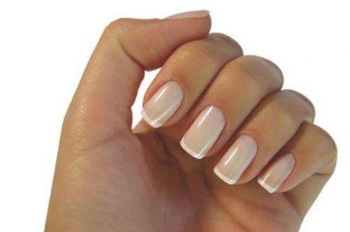 классический дизайн ногтей: