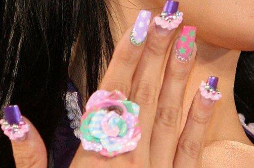 креативные ногти фото