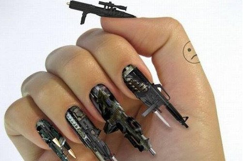 креативный дизайн ногтей автоматы фото